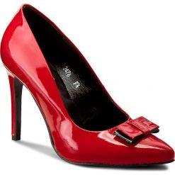 Szpilki SERGIO BARDI - Elvia FW127279817MP 108. Czerwone szpilki damskie Sergio Bardi, z lakierowanej skóry. W wyprzedaży za 189.00 zł.