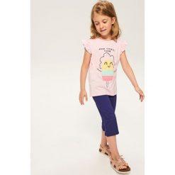 T-shirt z wypukłą aplikacją - Różowy. T-shirty damskie marki bonprix. W wyprzedaży za 14.99 zł.