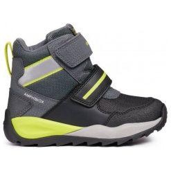 Geox Buty Zimowe Za Kostkę Chłopięce Orizont 30 Czarny. Czarne buty zimowe chłopięce Geox, z gumy. Za 369.00 zł.