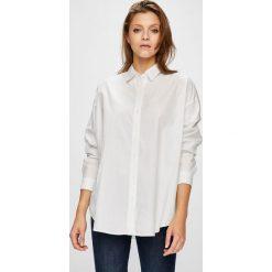 Levi's - Koszula. Brązowe koszule damskie Levi's, z bawełny, klasyczne, z klasycznym kołnierzykiem, z długim rękawem. Za 279.90 zł.