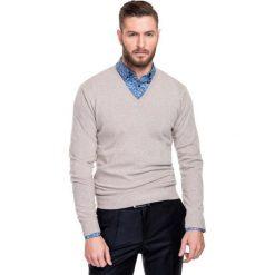 Sweter FABRIZIO SWER000111. Swetry przez głowę męskie marki Giacomo Conti. Za 229.00 zł.