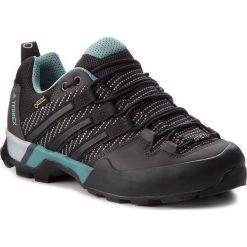 Buty adidas - Terrex Scope Gtx W GORE-TEX CM7476 Carben/Cblack/Ashgrn. Czarne obuwie sportowe damskie Adidas, z gore-texu. W wyprzedaży za 509.00 zł.