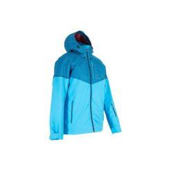 Kurtka narciarska JKT SKI All Mountain 580 męska. Niebieskie kurtki męskie WED'ZE, z materiału. Za 249.99 zł.