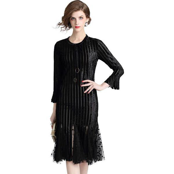 a16a9511e0 Sukienka w kolorze czarnym - Czarne sukienki damskie marki Kaimilan ...