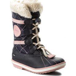 Śniegowce CLARKS - Fabyou Gtx Jnr GORE-TEX 261127346 Navy Leather. Śniegowce dziewczęce marki Clarks. W wyprzedaży za 239.00 zł.