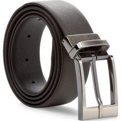 Pasek Męski TRUSSARDI JEANS - Belt Saffiano 71L00004 95 B220. Brązowe paski damskie TRUSSARDI JEANS, w paski, z jeansu. W wyprzedaży za 229.00 zł.