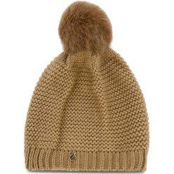 Czapka TRUSSARDI JEANS - Hat Knitted 59Z00116 B050. Brązowe czapki i kapelusze damskie TRUSSARDI JEANS, z jeansu. Za 189.00 zł.