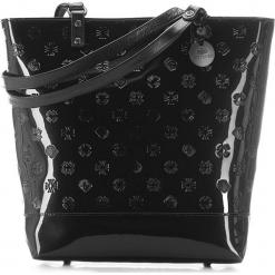Torebka damska 34-4-087-1L. Czarne torebki do ręki damskie Wittchen, z lakierowanej skóry. Za 899.00 zł.