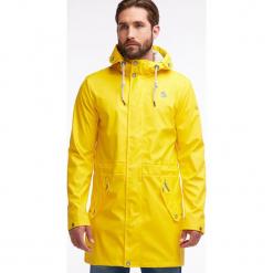 Parka przeciwdeszczowa w kolorze żółtym. Parki męskie marki bonprix. W wyprzedaży za 347.95 zł.