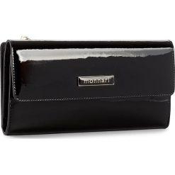 Duży Portfel Damski MONNARI - PUR1051-020 Czarny. Czarne portfele damskie Monnari, z lakierowanej skóry. W wyprzedaży za 129.00 zł.