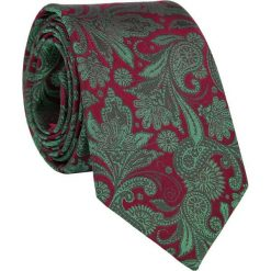 Jedwabny krawat KW000084. Szare krawaty i muchy Giacomo Conti, z jedwabiu. Za 129.00 zł.