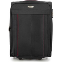 Walizka kabinowa V25-3S-271-10. Czarne walizki damskie Wittchen. Za 139.00 zł.