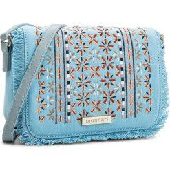 Torebka MONNARI - BAG3790-012 Light Blue. Niebieskie listonoszki damskie Monnari, z materiału. W wyprzedaży za 119.00 zł.