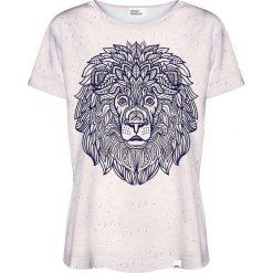 Colour Pleasure Koszulka damska CP-030 210 granatowo-beżowa r. XXXL/XXXXL. T-shirty damskie Colour Pleasure. Za 70.35 zł.