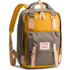 Plecak DOUGHNUT - D010-3107-F Macaroon Mustard/Light Grey. Szare plecaki damskie Doughnut, z materiału, sportowe. Za 349.00 zł.