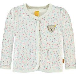 Bluza w kolorze białym ze wzorem. Bluzy dla niemowląt Steiff. W wyprzedaży za 82.95 zł.
