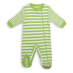 Pajacyk Greenery Stripe 6-12 m. Śpioszki niemowlęce marki Pollena Savona. Za 48.17 zł.