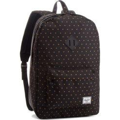 Plecak HERSCHEL - Heritage 10007-10007 Black/Gold. Czarne plecaki damskie Herschel, z materiału, sportowe. Za 299.00 zł.