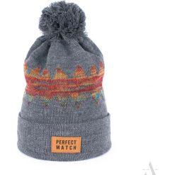 Art of Polo Czapka unisex Universal winter szara. Czapki i kapelusze męskie Art of Polo. Za 28.76 zł.