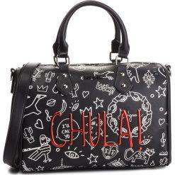 Torebka DESIGUAL - 18WAXPAA 2000. Czarne torebki do ręki damskie Desigual, ze skóry ekologicznej. W wyprzedaży za 239.00 zł.