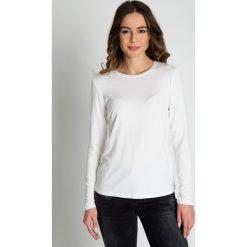 Dopasowana biała bluzka  BIALCON. Białe koszulki sportowe damskie BIALCON, z kapturem, z długim rękawem. Za 79.00 zł.