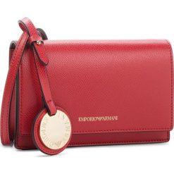 Torebka EMPORIO ARMANI - Y3B086 YH15A 88158 Red/Black. Czerwone listonoszki damskie Emporio Armani, ze skóry ekologicznej. W wyprzedaży za 389.00 zł.