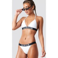 Calvin Klein Dół bikini Brazilian - White,Multicolor. Białe bikini damskie Calvin Klein. Za 161.95 zł.
