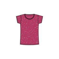 Koszulka krótki rękaw Gym & Pilates regular 500 damska. Koszulki sportowe damskie marki DOMYOS. Za 19.99 zł.