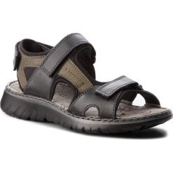 Sandały LASOCKI FOR MEN - MI18-876 Czarny. Czarne sandały męskie Lasocki For Men, z materiału. W wyprzedaży za 99.99 zł.