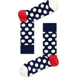 Happy Socks - Skarpetki Big Dot. Szare skarpety damskie Happy Socks. Za 39.90 zł.