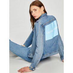 Calvin Klein Jeans - Kurtka. Szare kurtki damskie Calvin Klein Jeans, z bawełny. W wyprzedaży za 459.90 zł.