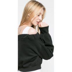 Missguided - Bluza. Szare bluzy damskie Missguided, z nadrukiem, z bawełny. W wyprzedaży za 89.90 zł.