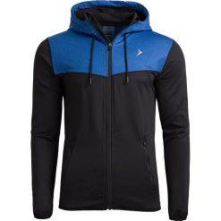 Bluza męska BLM604 - denim melanż - Outhorn. Niebieskie bluzy męskie Outhorn, na lato, melanż, z denimu. W wyprzedaży za 69.99 zł.