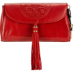Torebka damska 04-4-069-3. Czerwone torebki do ręki damskie Wittchen, w paski. Za 559.00 zł.