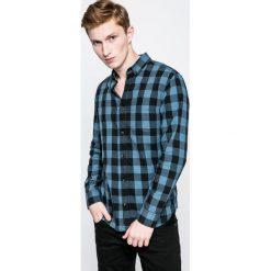 Produkt by Jack & Jones - Koszula Graham. Szare koszule męskie PRODUKT by Jack & Jones, w kratkę, z bawełny, button down, z długim rękawem. W wyprzedaży za 79.90 zł.