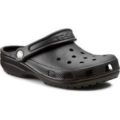 Klapki CROCS - Classic 10001 Black. Czarne klapki damskie Crocs, z materiału. W wyprzedaży za 139.00 zł.