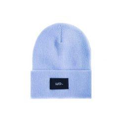 Czapka Beanie Blue Sky. Niebieskie czapki i kapelusze męskie Harp team, z dzianiny. Za 49.00 zł.