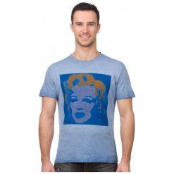 Pepe Jeans T-Shirt Męski Portrait Xl Niebieski. Niebieskie t-shirty męskie Pepe Jeans, z jeansu. W wyprzedaży za 129.00 zł.