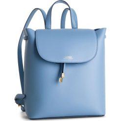 Plecak LAUREN RALPH LAUREN - Dryden 431719702006 Blue Mist. Niebieskie plecaki damskie Lauren Ralph Lauren, ze skóry. Za 1,089.00 zł.