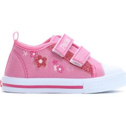 Różowe Trampki Classmate. Czerwone buty sportowe dziewczęce Born2be, z materiału. Za 39.99 zł.