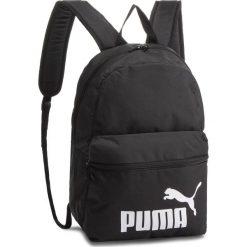 Plecak PUMA - Phase Backpack 075487 01 Puma Black. Czarne plecaki damskie Puma, z materiału, sportowe. Za 89.00 zł.