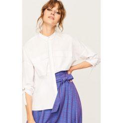 Biała koszula - Biały. Białe koszule damskie Reserved. Za 89.99 zł.
