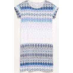 Koszula nocna - Niebieski. Niebieskie koszule nocne damskie Reserved. Za 59.99 zł.