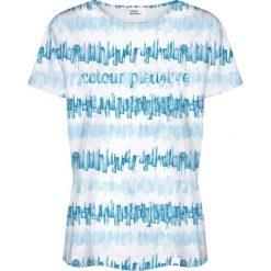 Colour Pleasure Koszulka damska CP-030 281 biało-niebieska r. XL/XXL. T-shirty damskie Colour Pleasure. Za 70.35 zł.