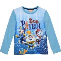 Koszulka w kolorze turkusowym. T-shirty dla chłopców Disney & Paw Patrol, z nadrukiem, z bawełny. W wyprzedaży za 19.95 zł.