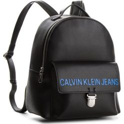 Plecak CALVIN KLEIN JEANS - Sculpted Cp Backpack K40K400386 001. Czarne plecaki damskie Calvin Klein Jeans, z jeansu, eleganckie. Za 699.00 zł.