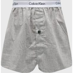Calvin Klein Underwear - Bokserki (2-pack). Szare bokserki męskie Calvin Klein Underwear, z aplikacjami, z bawełny. Za 159.90 zł.
