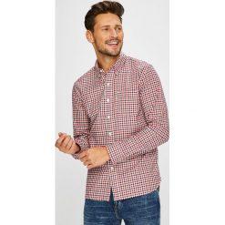 Levi's - Koszula. Brązowe koszule męskie Levi's, w kratkę, z bawełny, button down, z długim rękawem. Za 279.90 zł.
