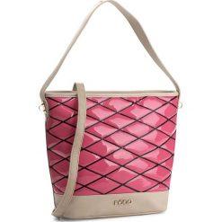 Torebka NOBO - NBAG-1161-C004 Różowy. Czerwone torebki do ręki damskie Nobo, ze skóry ekologicznej. W wyprzedaży za 129.00 zł.