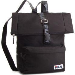 Plecak FILA - Rolltop Backpack Örebro 685045 Black 002. Czarne plecaki damskie Fila, z materiału, sportowe. W wyprzedaży za 159.00 zł.